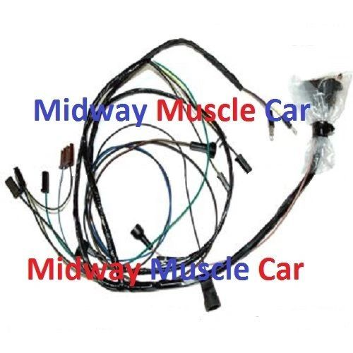 engine wiring harness V8 67 Pontiac Firebird 326 400