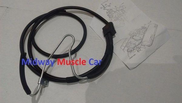 thermo controlled ported intake vacuum switch hose kit 69 Pontiac GTO Firebird