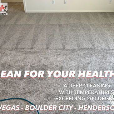 Carpets are your HOME's biggest Air Filter. Keep them CLEAN!