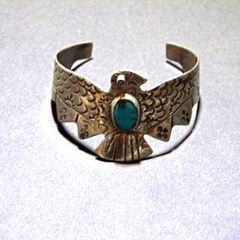 Thunderbird Sterling Silver Bracelet