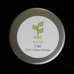 CBD Salve 2 oz. No essential oils