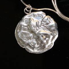 Fairy Pendant (Fine Silver)