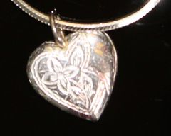 Sterling Silver Heart on a Sterling Silver Chain
