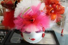 """Valentines Day Ornament """"pink"""" By Nanette Boerding"""