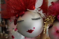 "Valentines Day Ornament ""Silver"" By Nanette Boerding"