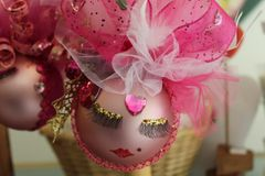 """Valentines Day Ornament """"Pink Jewel"""" By Nanette Boerding"""