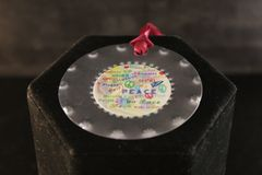 """Beautiful """"Peace"""" Ornament by New Mexico Tin Artwork"""