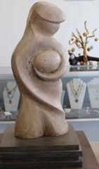 """It's Mine"" Stone Sculpture"