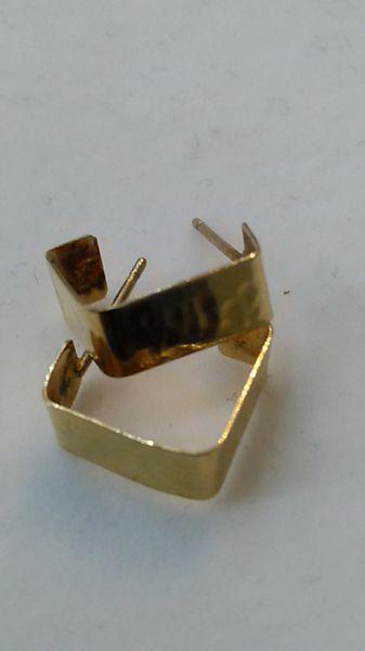 Hoop earrings, lady earrings, yellow Gold, 10 K ,xcz