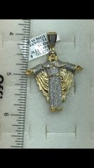 10K Solid Yellow Gold Real Diamond