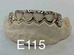 6 Teeth E115 Gold Teeth