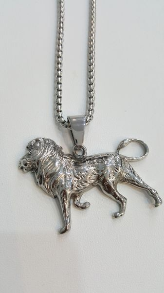 Pure stainless steel chains and Charms Ling King W889976