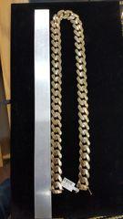 10KT Gold 17MM Turkish Hollow Miami Cuban Chain