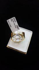 10KT Stylish Round Diamond Ring