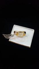 10KT Pave Mens Diamond Ring