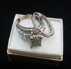 10KT Wedding Diamond Ring