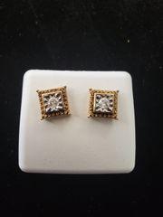 925 SILVER W/ REAL DIAMOND