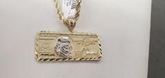 $ charm w/chain