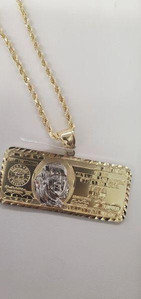 $100 charm and chain