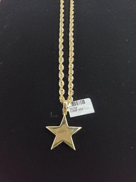 10KT Star Diamond Charm
