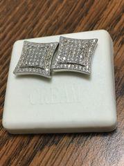 Sterling Silver, A 528-15R, Screwback Earring