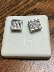 Sterling Silver, A00023-09R, Screwback Earring