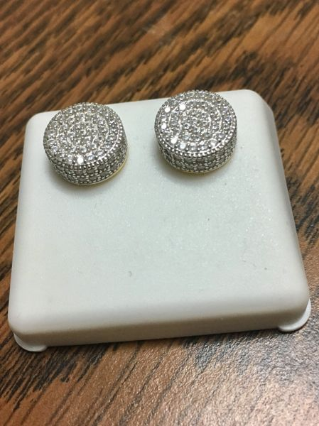 Sterling Silver, E 502 , Screwback Earring
