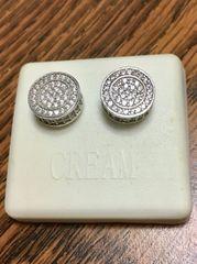 Sterling Silver, A507-11R, Screwback Earring