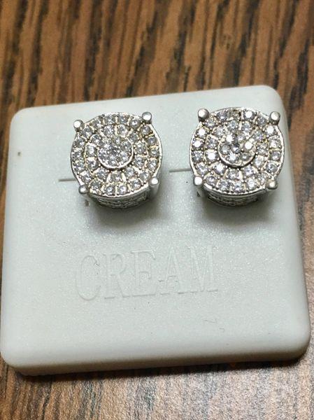Sterling Silver, A00026-14R , Screwback Earring