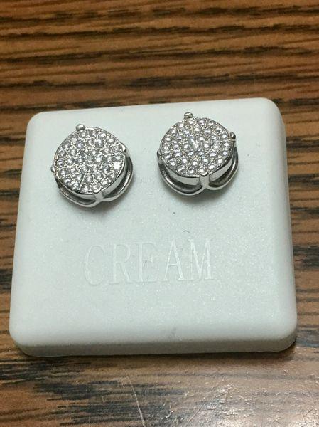 Sterling Silver, A00007-10R,Screwback Earring