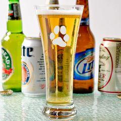 Libbey Pilsner Beer Glasses 11.5oz - JL Paw Print