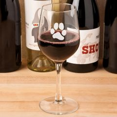 Libbey Stemmed Wine Glass 15.25 oz - JL Paw Print
