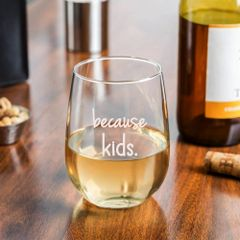 Because Kids Glassware