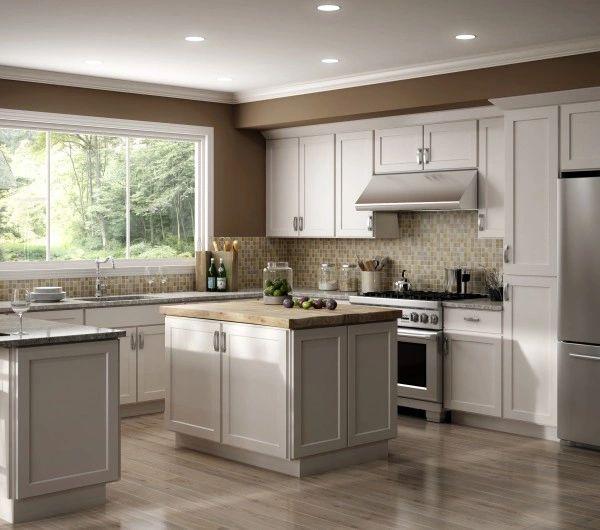 Luxor White Kitchen Cabinets Furnituresalesnyc Com Got It All