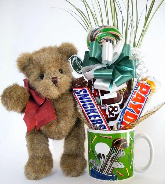 Golf Candy Bear Bouquet Lil Snugs
