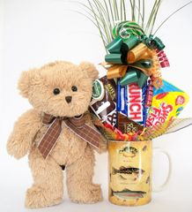 Fishing Candy Bear Bouquet Bensen