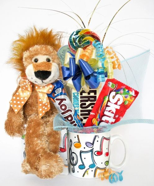 Music Candy Bear Bouquet Roary Party Animal
