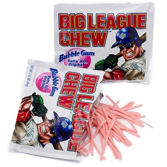 Big League Chew Bubble Gum - ADD TO CANDY BEAR BOUQUET