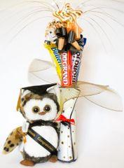 Graduation Candy Bear Bouquet Wisdom Owl