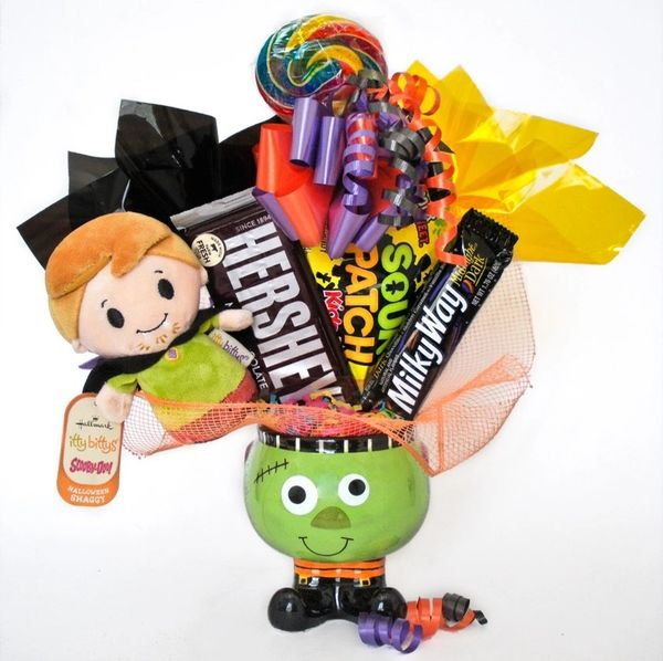 Halloween Candy Bear Bouquet Scooby Doo and Shaggy