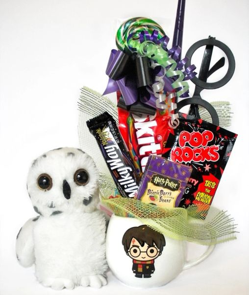 Harry Potter Candy Bear Bouquet Little Powder Owl