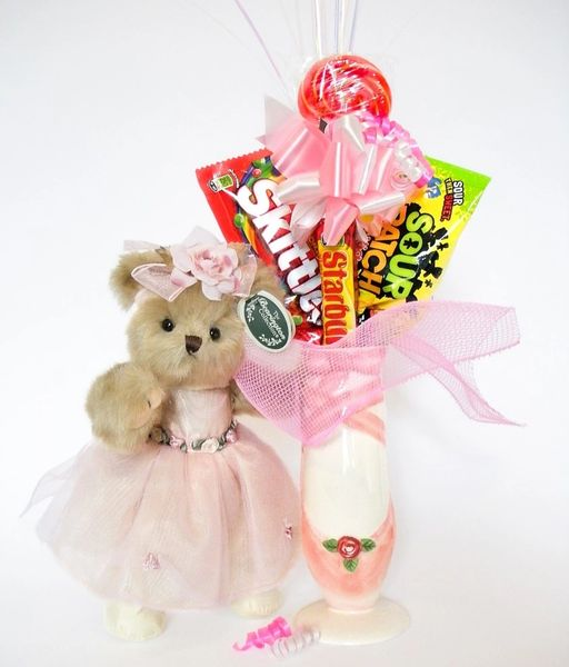 Ballet Candy Bear Bouquet Tiny Toeshoes