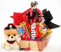 Pirate Candy Bear Bouquet Itty Bitty Boo