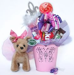 Princess Candy Bear Bouquet Fifi Fairytale
