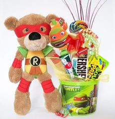 Teenage Mutant Ninja Turtles Candy Bear Bouquet