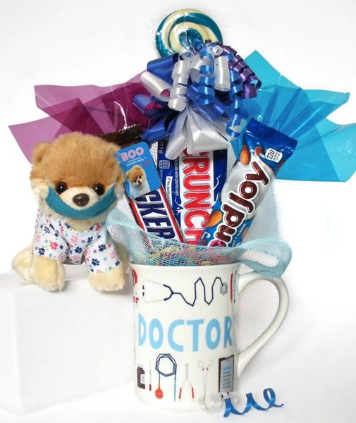 Doctor | Nurse | Vet Candy Bear Bouquet Itty Bitty Boo Scrubs