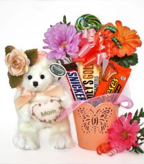 Mother's Day | Grandparents Day Candy Bear Bouquet Mommy Tenderheart