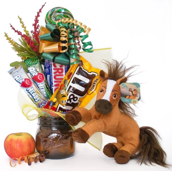 Horse Candy Bear Bouquet Spirit