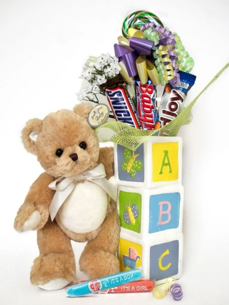 Baby Candy Bear Bouquet Lil Teddy