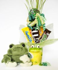 Frog Candy Bear Bouquet Frank
